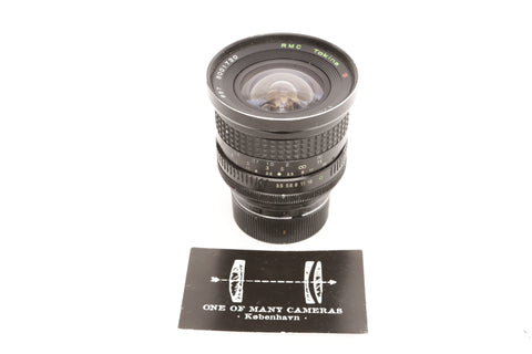Tokina 17mm f3.5 RMC - Leica M mount converted