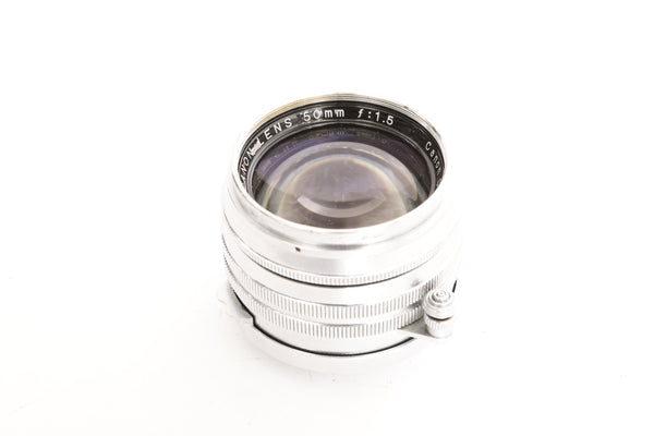 Canon 50mm f1.5 LTM - cl'a January 2019 - for Leica