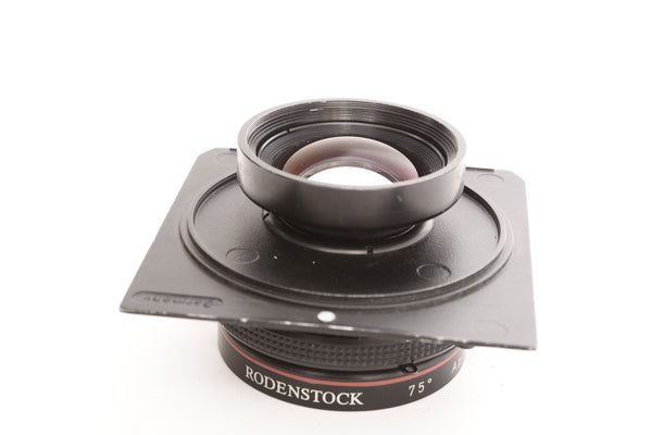 Rodenstock 180mm f5.6 Apo-Sironar-S in Prontor S1 shutter on Linhof Technika IV board