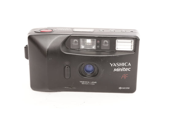 Yashica Minitech AF with 32mm f3.5
