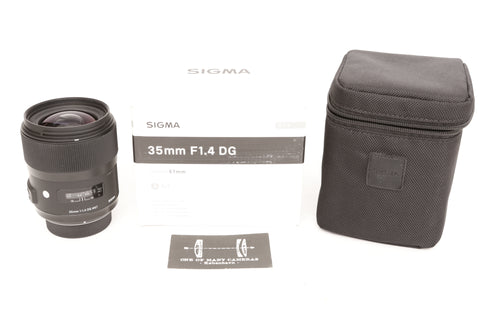 Sigma 35mm f1.4 DG ART for Nikon