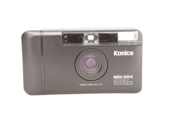 Konica Big Mini with 35mm f3.5