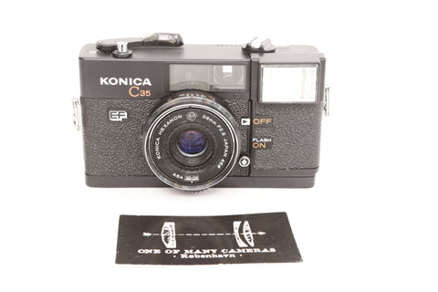 Konica C35 EF with 38mm f2.8