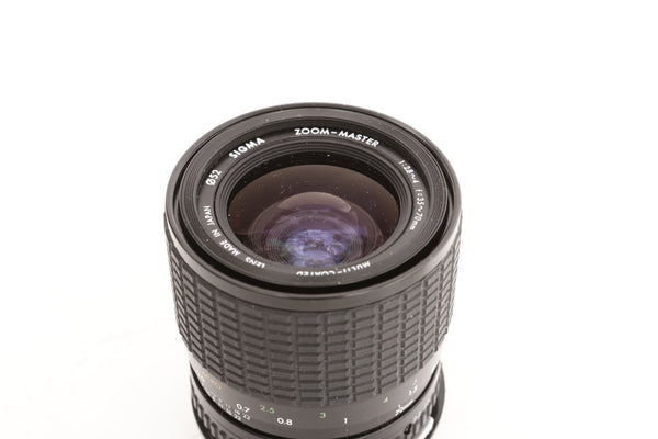 Sigma 35-70mm f2.8-4 Zoom Master for Olympus OM