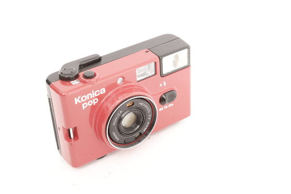 Konica Pop Red