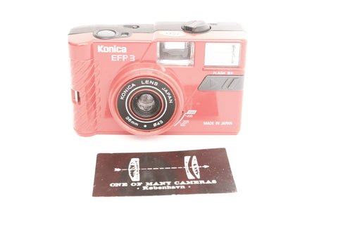 Konica EFP 3 - Red