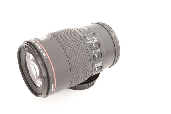 Canon EF 100mm f2.8 Macro L IS USM with hood