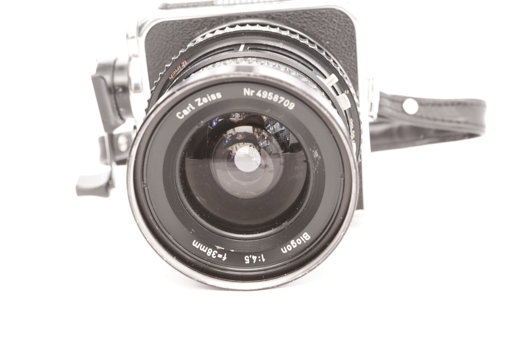 Hasselblad SWC Super Wide C with 38mm f4 5 Zeiss Biogon and finder
