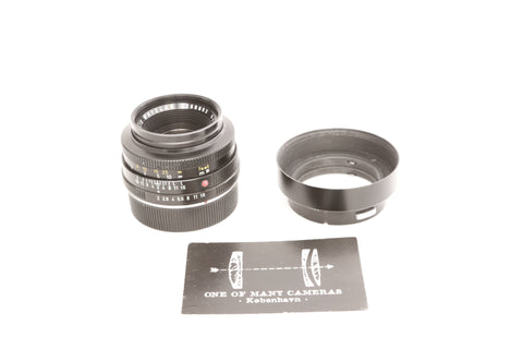 Leica R 50mm f2 Summicron with hood 12654