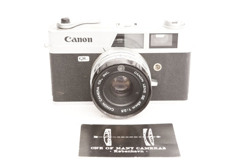 Canon Canonet QL25 with 45mm f2.5