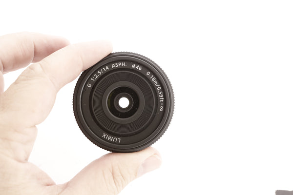 Panasonic 14mm f2.5 G ASPH - for MicroFourThirds