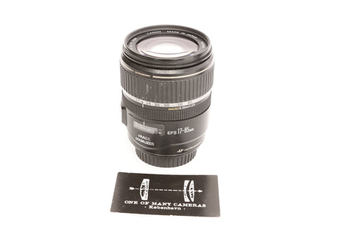 Canon EFs 17-85mm f4-5.6 IS USM
