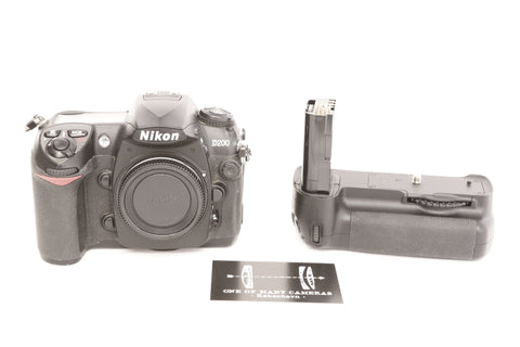 Nikon D200 with Motordrive MB-D200