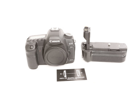 Canon EOS 5D Mark II with batterygrip