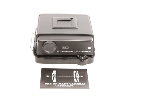 Mamiya RZ67 Professional II 120 Roll film back