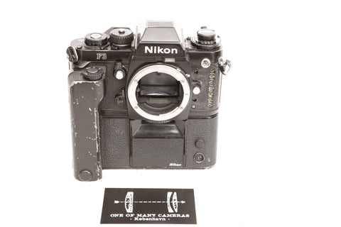 Nikon F3 with MD-4 Motor Drive