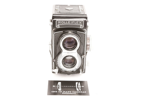 Rolleiflex T with 75mm f3.5 Tessar - cl'a September 2019
