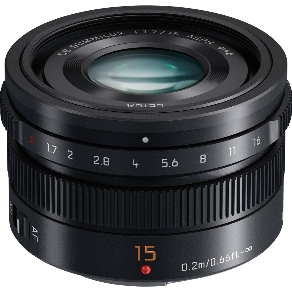 Panasonic G 15mm f1.7 ASPH Leica Summilux