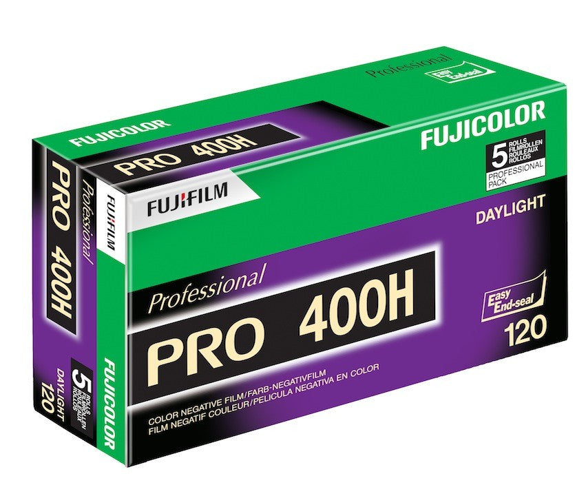 Fuji Pro 400H 120 5-pack -- LAST COPIES WORLDWIDE!!