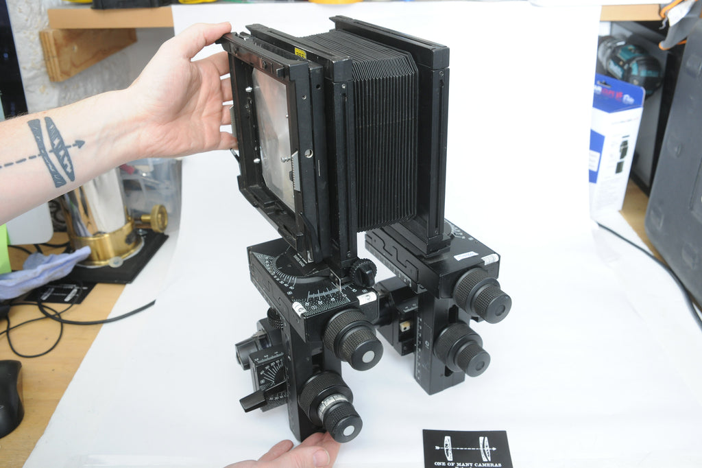 Sinar X 4x5 Large Format Camera with Bellows and Groundglass
