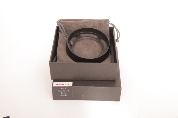 Thorsten von Overgaard Original Ventilated Lens Hood for Leica M Summarit 75mm and 90mm