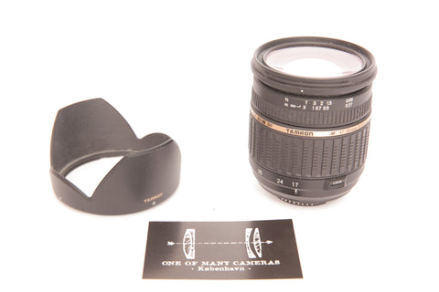 Tamron 17-50mm f2.8 AF (IF) LD XR Di II SP with hood DA09