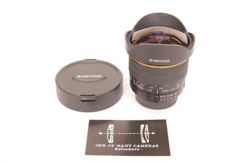Samyang 8mm f3.5 Fish-eye CS for Nikon