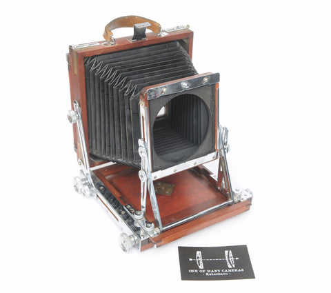 S Okubo 4x5 lightweight wooden camera - Linhof boards