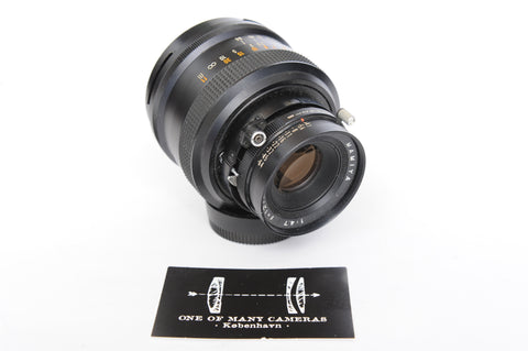 Mamiya 127mm f4.7 for Polaroid 600 SE