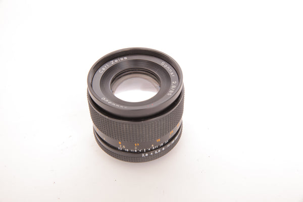 Zeiss 85mm f2.8 Sonnar - Contax Yashica mount
