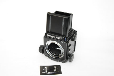 Mamiya RZ67 Pro II w. waist level finder and manual