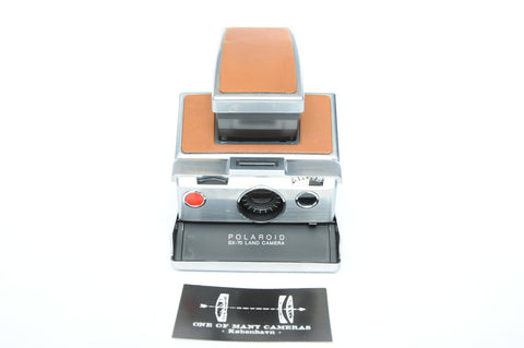 Polaroid SX-70 Brown - Provenance of famous rapper MC Einar!