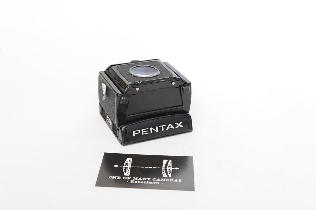 Pentax 67 waist level finder