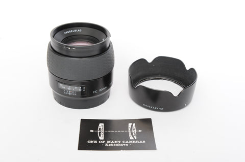 Hasselblad HC 80mm f2.8 with hood