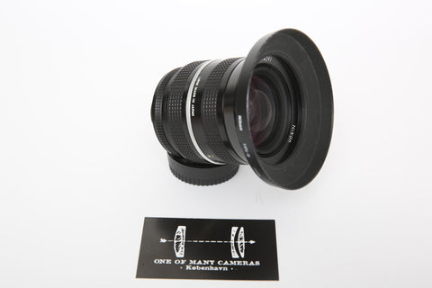 Nikon 28-45mm f/4.5 AI-s w. Chip-coding conversion