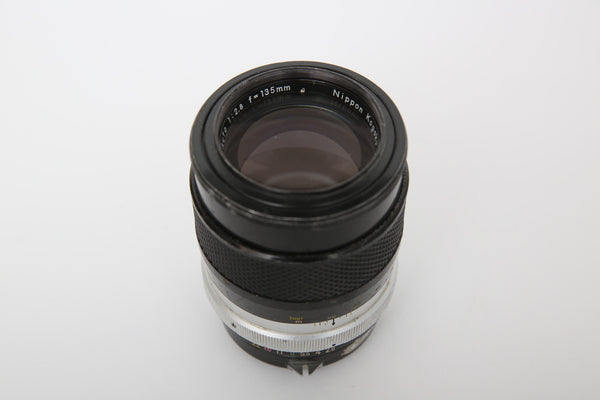 Nikon 135mm f2.8 AI-converted
