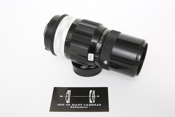 Nikon 200mm f4 AI-Converted