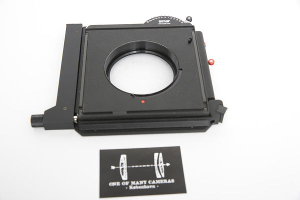 Sinar Copal Shutter for Sinar system - newly serviced