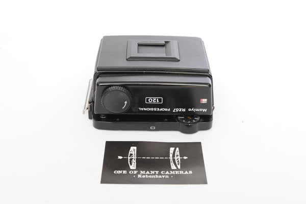 Mamiya RZ67 Professional 120 Roll film back - NEWLY SERVICED