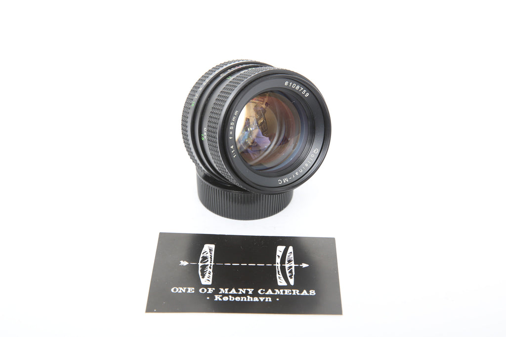 Rolleinar-MC 55mm f1.4 QBM-Mount