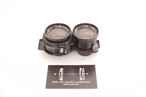 Mamiya C 55mm f4.5 for TLR C-series