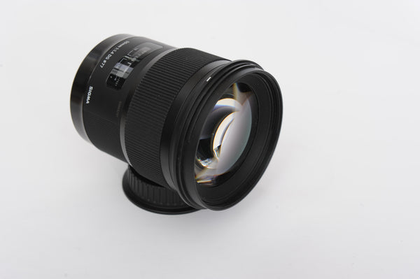 Sigma 50mm f1.4 DG ART with hood - for Canon EF