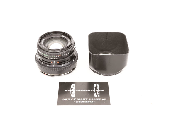 Hasselblad 80mm f2.8 Planar T* Black  with hood