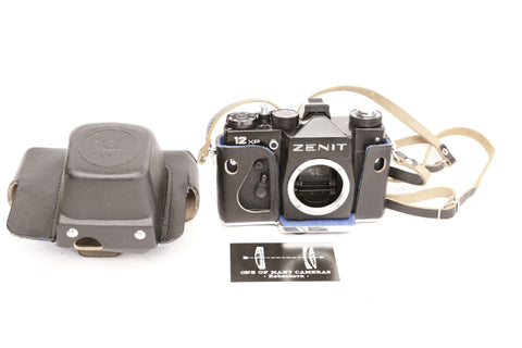 Zenit 12XP with case - New old stock