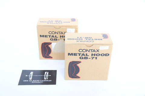 Contax 645 GB-71 Metal Lens Hood for Distagon 45 & 55 Planar 80/2
