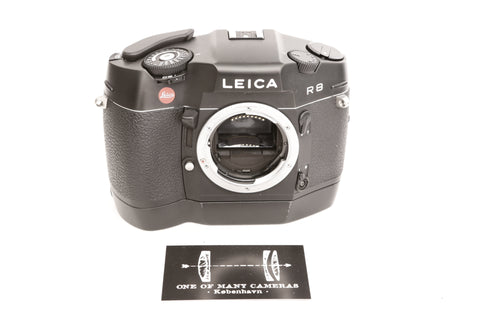 Leica R8 with Motor-Winder