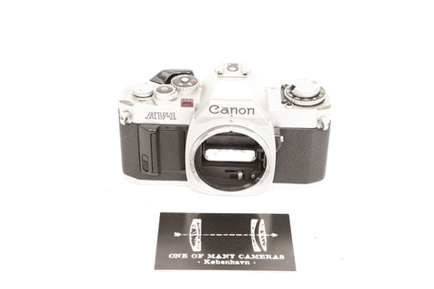 Canon AV-1 Chrome