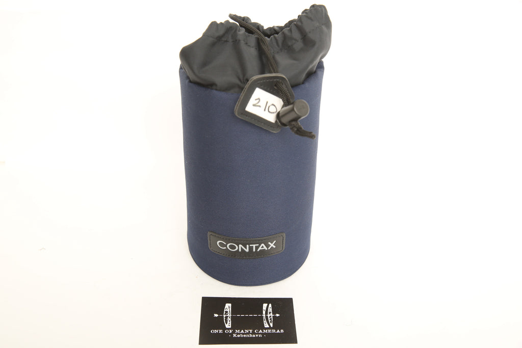 Contax 645 MCL-3 Lens Pouch for Sonnar 210mm f/4 from JAPAN