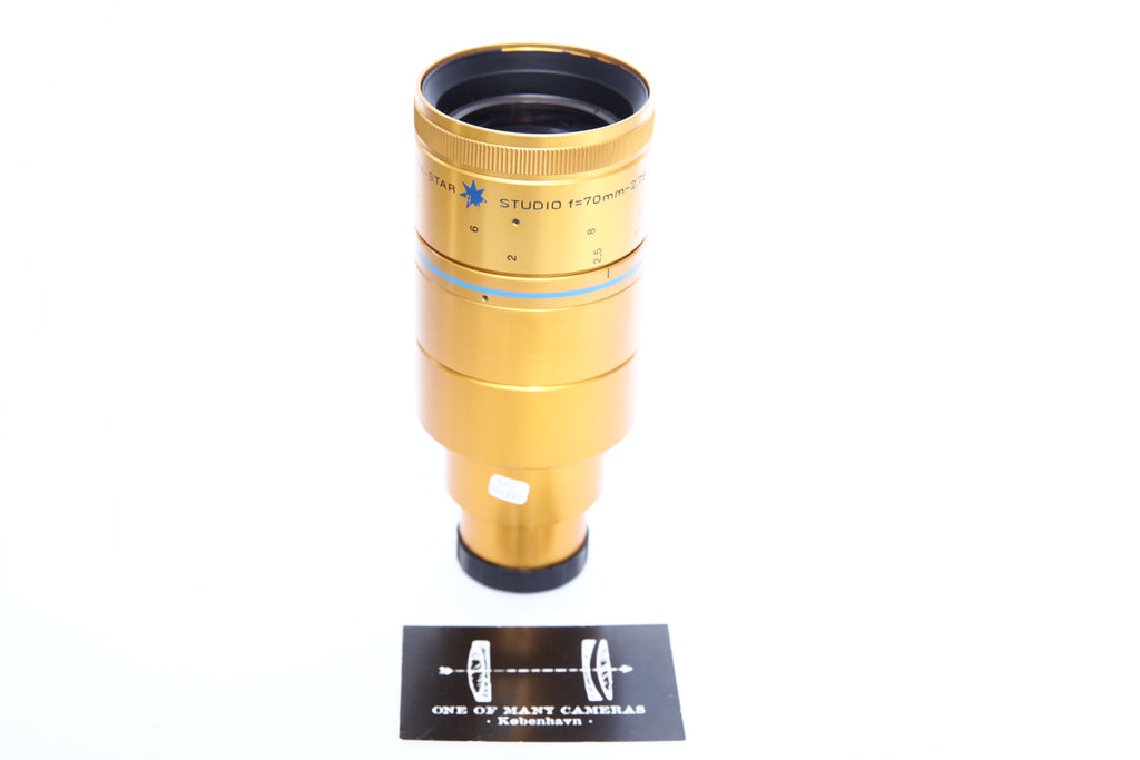 ISCO Ultra Star Cinemascope Integrated 70mm Anamorphic 35mm ANAMORPHIC Cine Lens