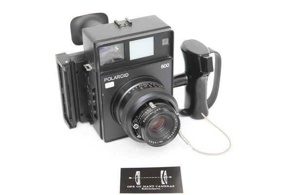 Polaroid 600 with 127mm f/.4.7